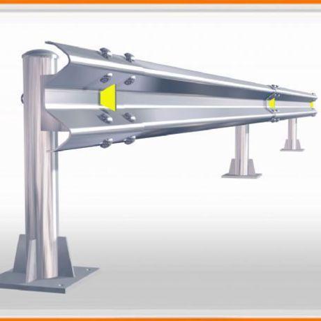 公路护栏板 高速公路专用波形板 镀锌护栏板 喷塑护栏板