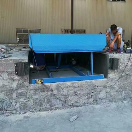 专业定制12吨液压登车桥 物流装卸过桥 固定式登车桥高度调节板