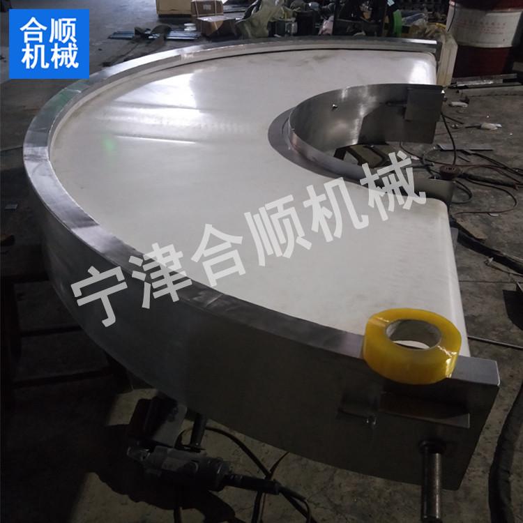 合顺厂家专业定做皮带输送机 小型皮带转弯输送机