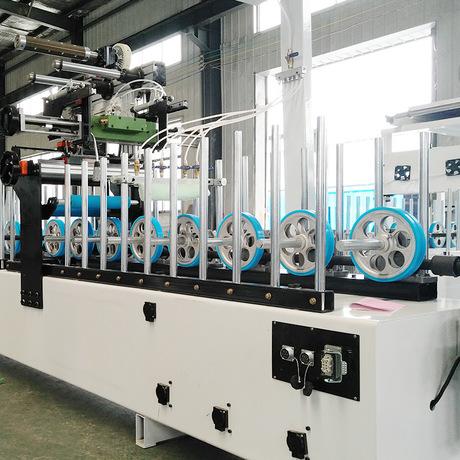 一航_木工机械覆面机 热熔胶包覆机 自动铝材包覆机批发