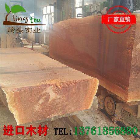 港口厂家直销 红柳桉木 地板料 户外防腐木