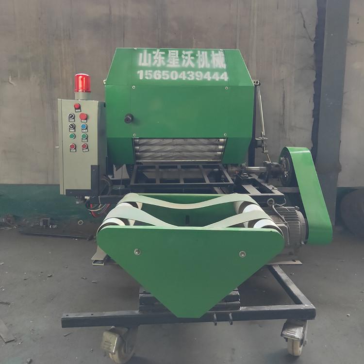 打捆包膜机_星沃_高效率液压打包机_生产加工