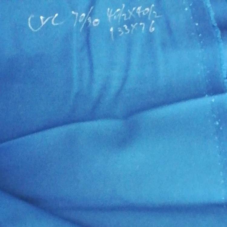 CVC70/30 32*32 130*70 斜纹面料 福元纺织