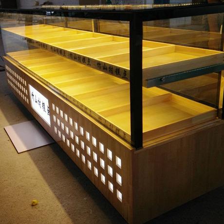 厂家直销面包柜台  私人定制  中岛柜 蛋糕样品柜