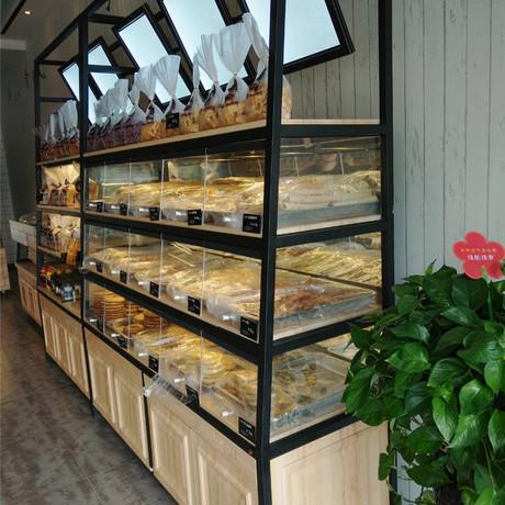 烘培面包货架