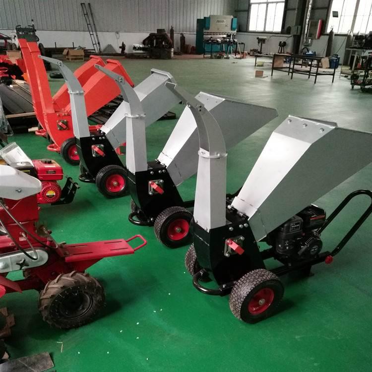 树枝粉碎机_斯诺机械_进口移动式园林树枝粉碎机_生产商出售