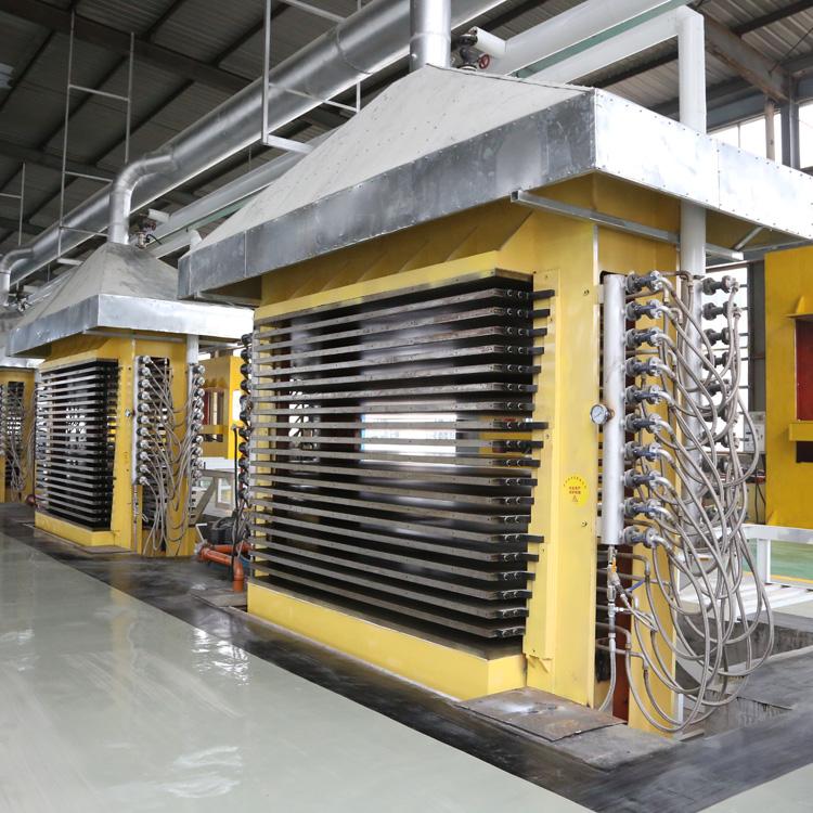 15层热压机_临茂_复合板热压机_定制生产商