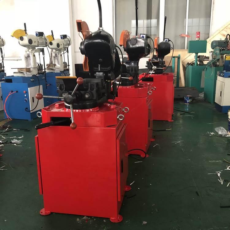 厂家直销现货MC-275A手动金属圆锯机手动切管机_帅诚机械