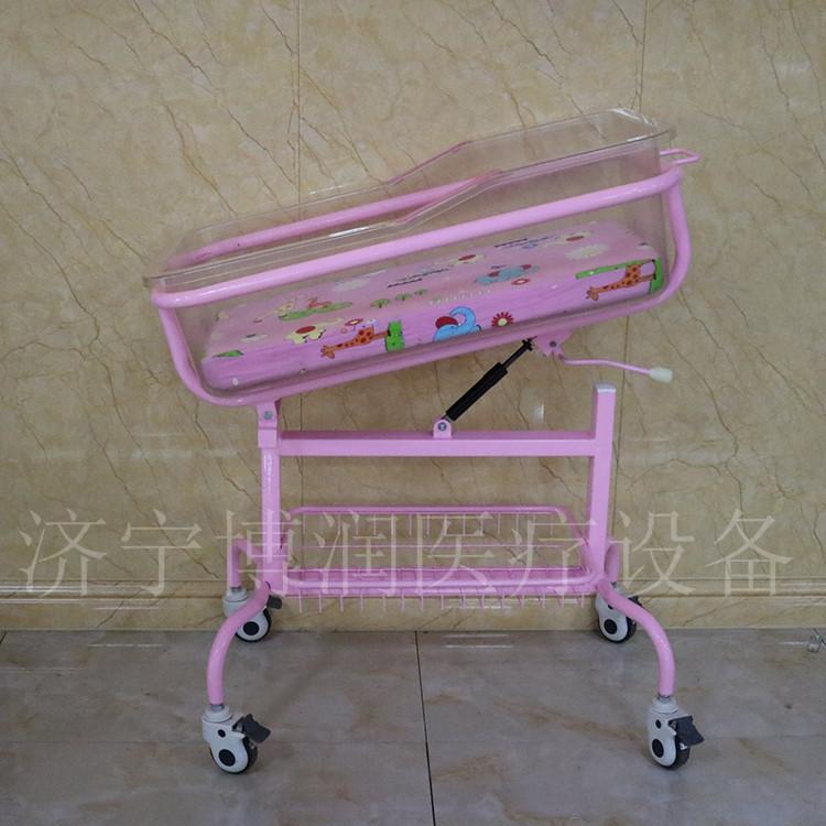 钢制组合婴儿床_博润医疗设备_501款钢制婴儿床_供应商销售