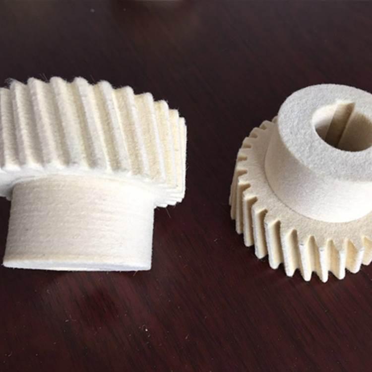 厂家定制注油羊毛毡齿轮_螺旋羊毛毡齿轮_齿条毛毡齿轮