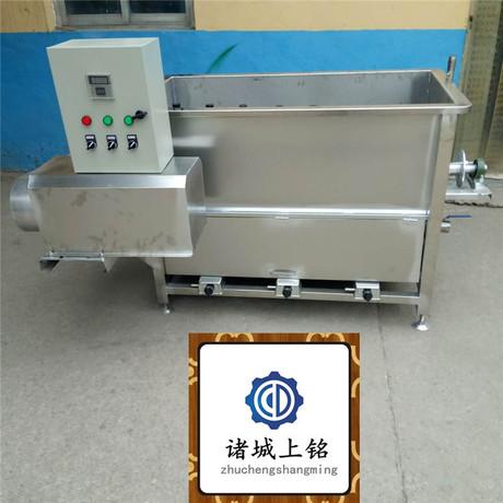广东湛江电气两用鸭子浸烫机  不锈钢自动搅拌鸭子烫毛机