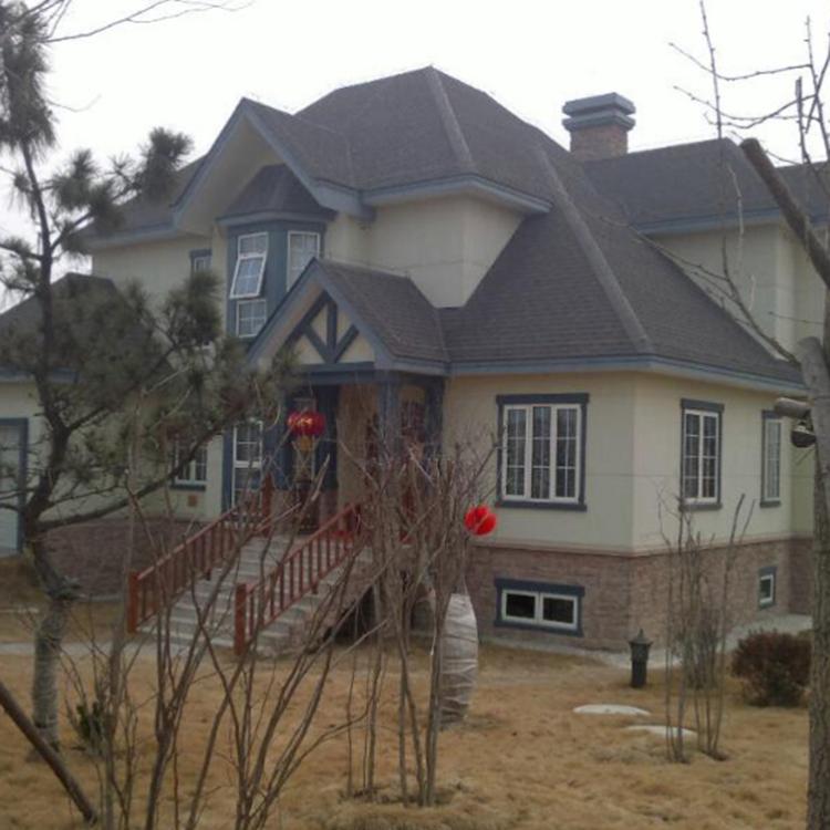 大型轻钢别墅_国隆汉韵_钢结构住宅_企业现货