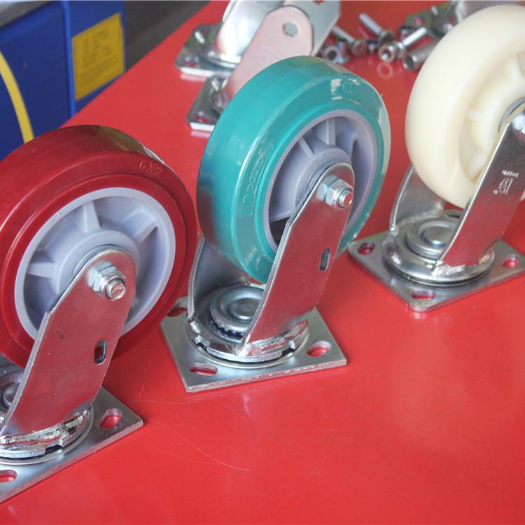 6寸尼龙轮_多轮多_橡胶尼龙轮_工厂销售