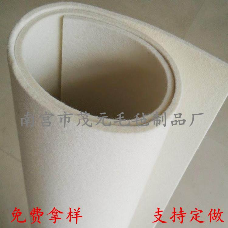 厂家供应高密度工业羊毛毡_密封抛光耐磨吸油抗震毛毡
