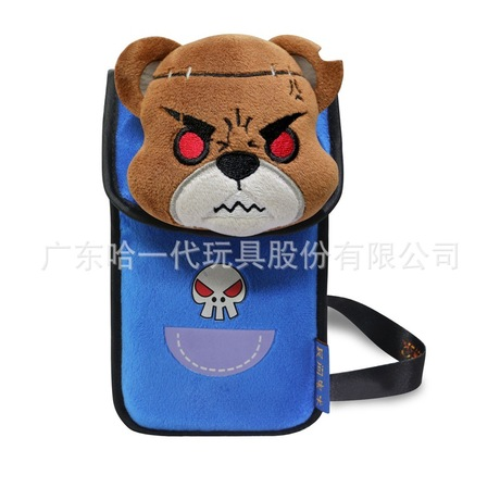 供应毛绒玩具手机袋 卡通布艺手机袋 毛绒手机袋批发厂家