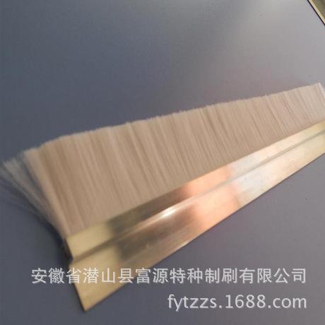 厂家热销尼龙丝耐磨条刷 长条毛刷 工业条刷 质量保证