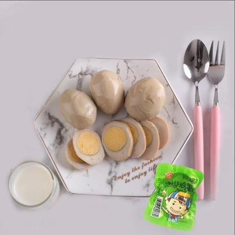 八大锤泡椒卤鸡蛋喜蛋乡巴佬味卤蛋小包装整箱批发150个