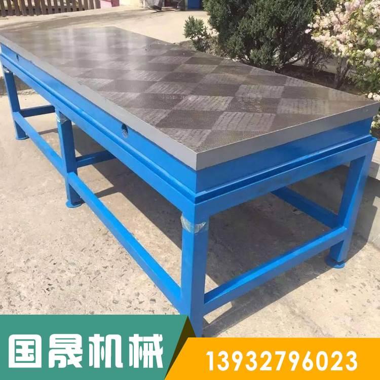 厂家专业生产加工铸铁平台铸铁平板精度准寿命长校准精密钳工装配铸铁平台
