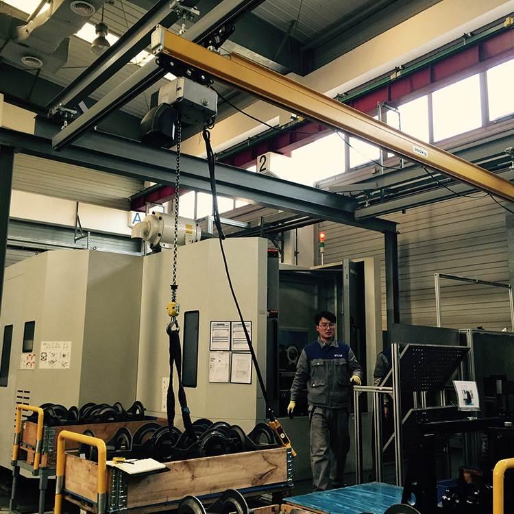 轻小型起重机采购就选诺尔起重机_轻型起重机厂家专业加工价格低