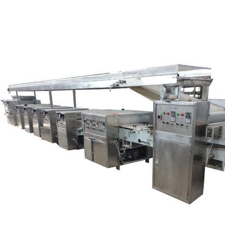 全自动 饺子皮 生产线  混沌皮  包子皮生产线 / 工厂