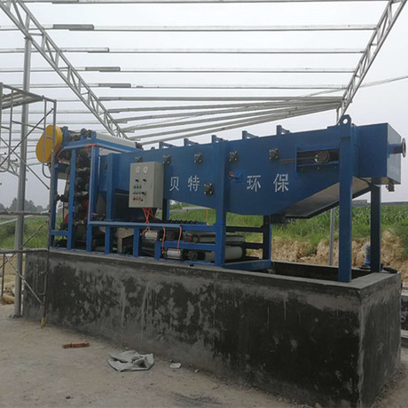 水洗砂(沙)污水处理成套设备 带式污泥脱水机厂家【贝特尔】