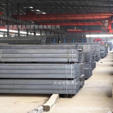 厂家直销天津Q235镀锌方管 钢铁管材 机械制造 建筑装饰可定制