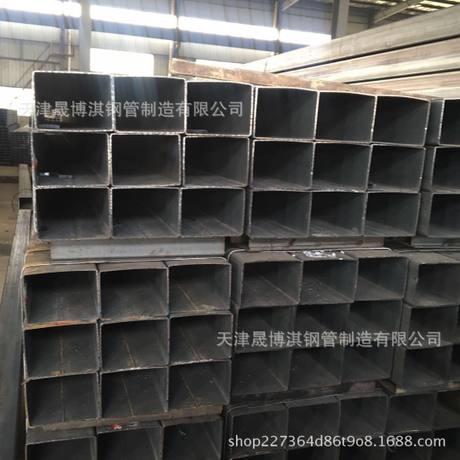 厂家直销天津现货Q235方矩管 工程建筑 护栏 货架 机械制造可定制