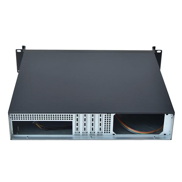 2U工控机箱电脑服务器机箱M-ATX主板