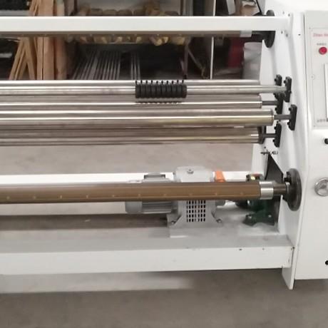 展鸿机械厂家直销pvc膜 包覆薄膜复卷机分卷机简易卧式多刀分切机