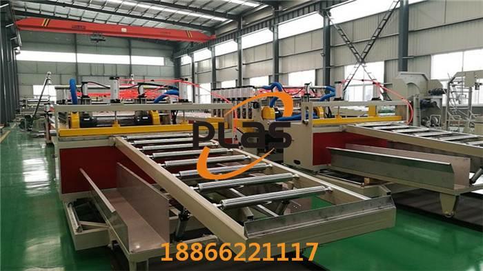 厂家直销_PVC发泡板生产线_PVC广告板生产线_发泡板生产线_青岛普拉斯
