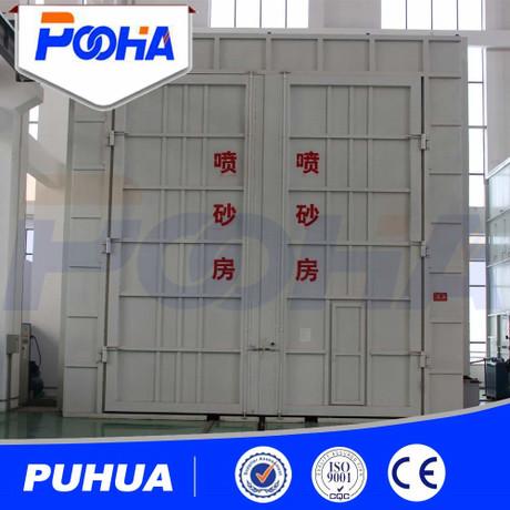 厂家提供机械回收喷砂房 风吸式喷砂房 喷砂房定制