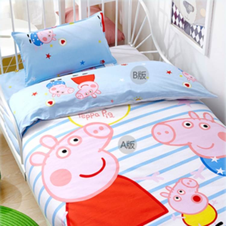 夏雨梦品牌厂家直销儿童床品_儿童床品套件_花色多,面料好,价格低