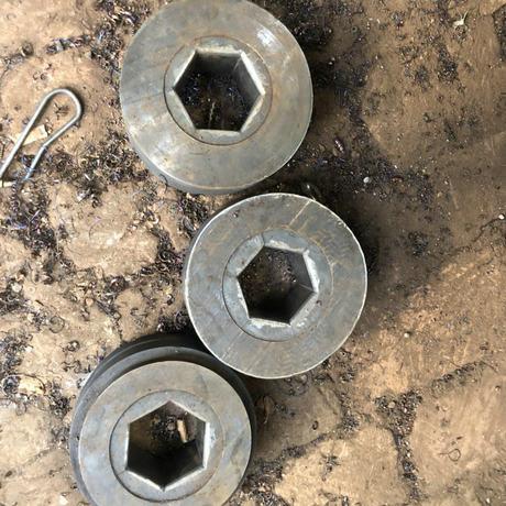生产定制热冲硬质合金六角冲模  六角边冲模多种样式六角合金模具