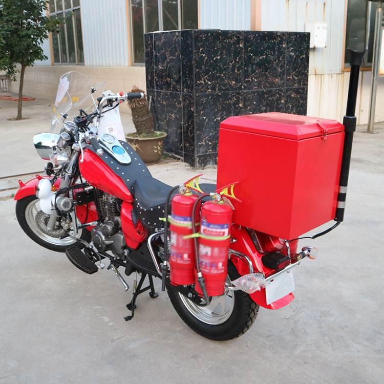 消防车二轮消防摩托车(箱式)