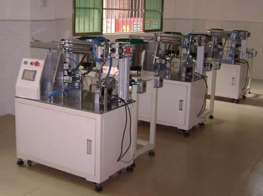 冠簧自动装配机 自动冠簧装配机