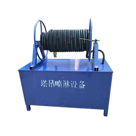 工地塔吊喷雾 洒水降温除尘工业雾化设备  塔机喷淋围挡喷淋系统