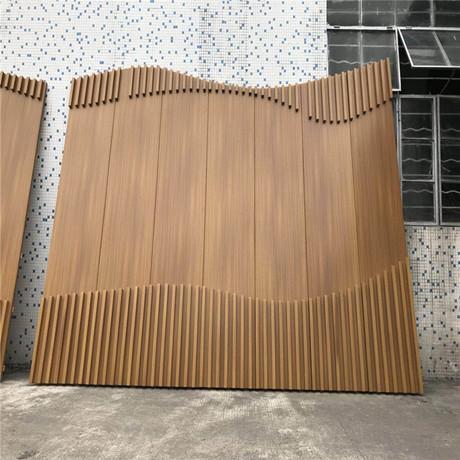 特色背景墙 轮船背景墙铝板制作防火防潮抗腐蚀 铝背景墙生产厂家