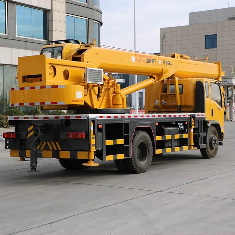 山东济宁工程机械新款东风16吨汽车吊车   16吨吊车价格