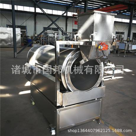 厂家直销大型喷油滚筒式调味机 多功能拌料机 质优价廉