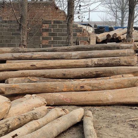 2019年下房老榆木原木多少钱一吨老榆木板材价格