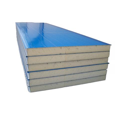 50厚机制泡沫板 屋面瓦楞彩钢夹心板 泡沫夹芯板 彩钢板夹心板