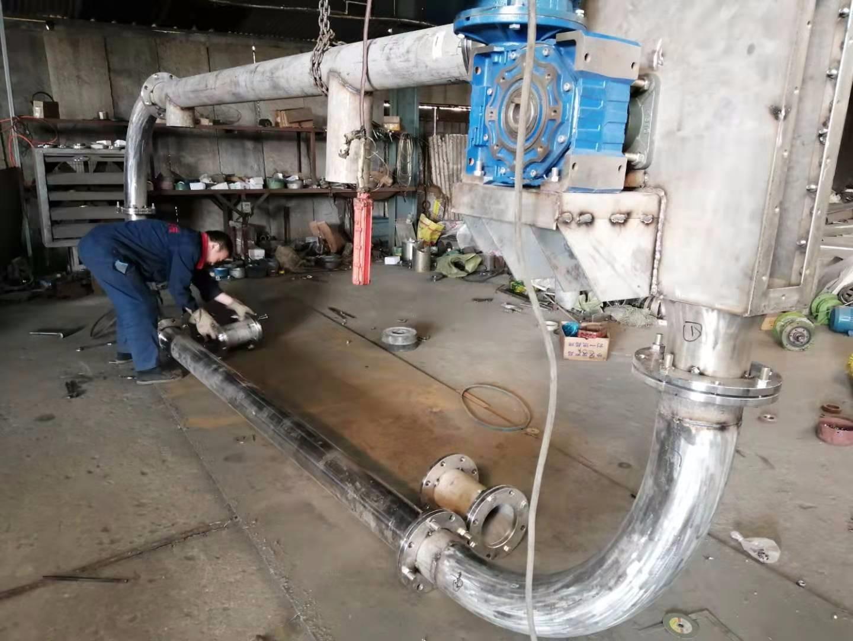无粉尘管链输送机 单向运输管链机 QA2