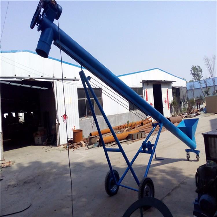 新款螺旋提升机 蛟龙螺旋输送机6m QA2