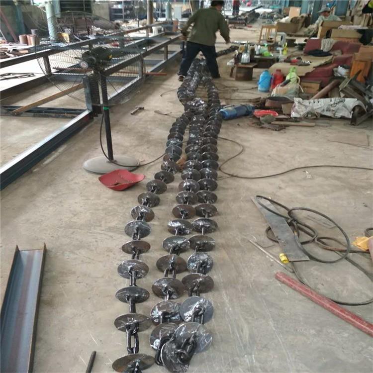 环保型管链机 多下料口管链机 QA2