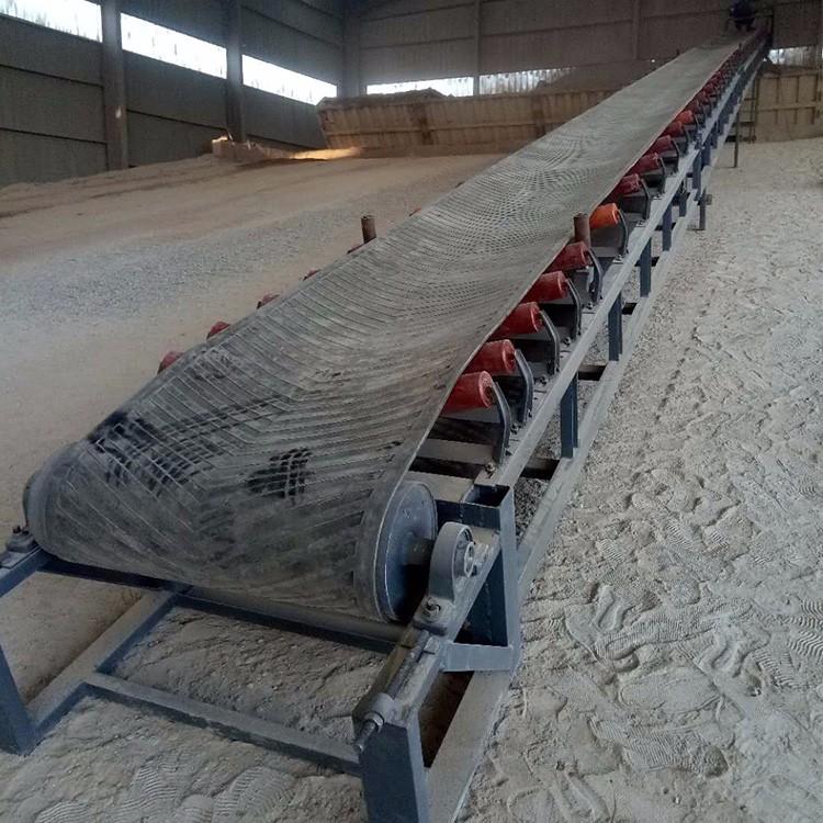 槽皮带输送机 混凝土皮带输送机 QA2