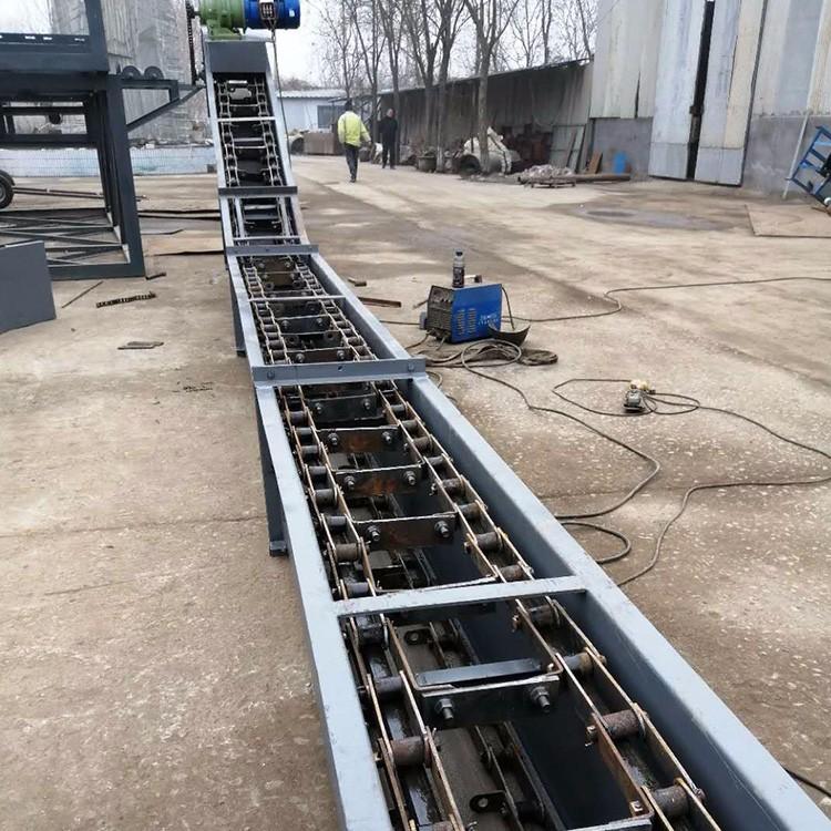 大倾角刮板输送机 ms型埋刮板输送机厂家 QA2