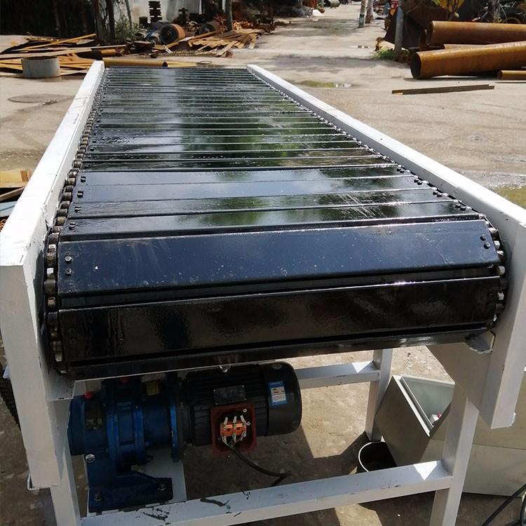 NE30板链斗式提升机 铁板板链输送机 QA2