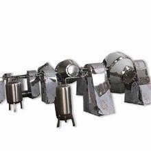 高分子材料不锈钢搅拌机 双锥调味品混料机 鼓式医药粉剂混合机