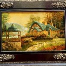 编织欧式宫廷挂毯-世界名画挂毯-欧式古典风客厅大厅挂毯-厂家直销