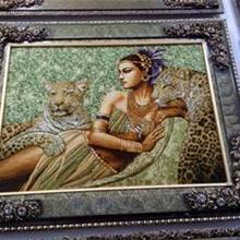 人物风景花卉挂毯-古典风格挂毯-浪漫唯美挂毯壁毯厂家直销